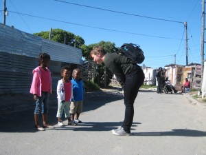 Margrete i Cape Town for å jobbe med sosialt entreprenørskap