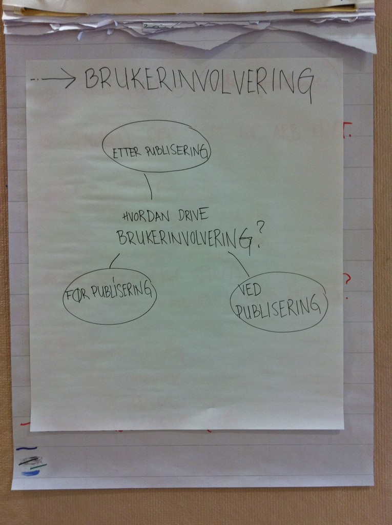Workshop om brukerinvolvering